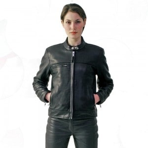 Davida Leather Jacket Womens