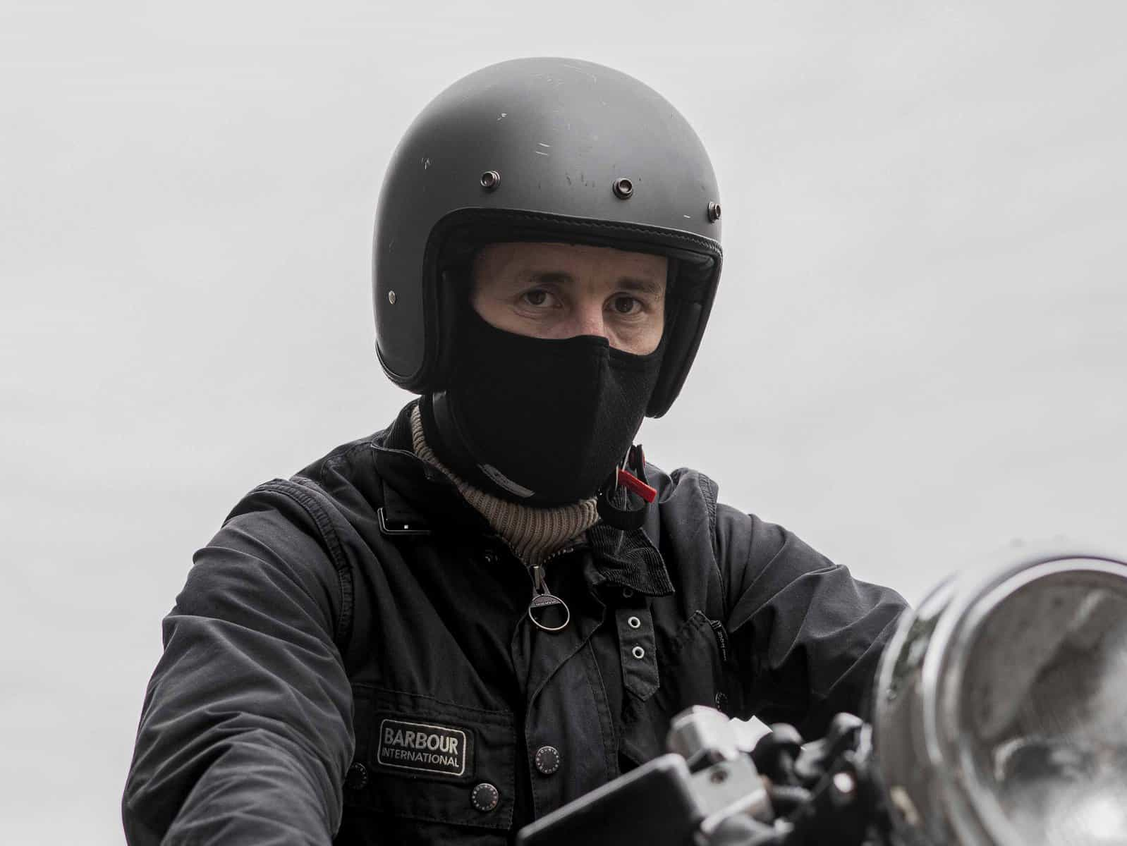 Rare Bird Of London: Anti-Pollution Face Mask: Black Herringbone