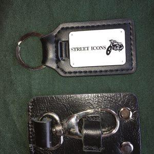 Street Icons Handmade Belt Key Holder And Leather Key Fob