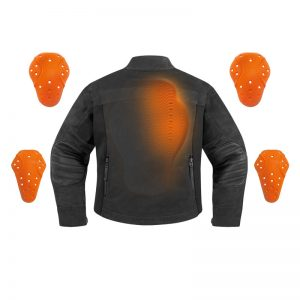 D3O Armour Kit for Resurgence Gear Denim Jacket and Riding Shirts