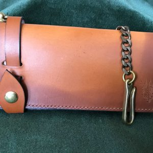 Jack Stillman: Handmade Leather Bikers Wallet