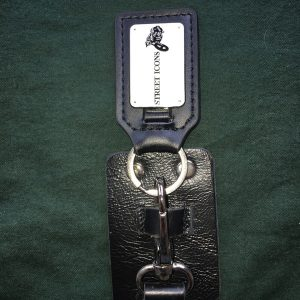 Handmade Leather Belt Key Holder