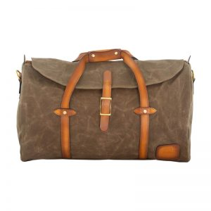 Jack Stillman: Rogue Luxury Waxed Canvas Duffle