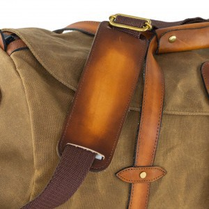 Tanner Leather Shoulder Pad and Sling