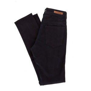Resurgence Gear Heritage Ladies Protective Motorcycle Jeans in Jet Black