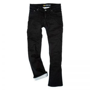 Resurgence Gear Voyager PEKEV Jet Black Ladies Motorcycle Jeans & Trousers