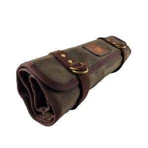 F2 Waxed Canvas Tool Roll by Jack Stillman