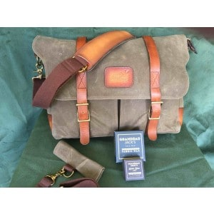SAVE £135!  Handmade Commodore  Messenger Bag with  Accessories