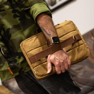 Waxed Canvas Laptop Sleeve by Jack Stillman