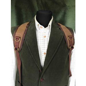 Jack Stillman: Vintage Style Backpack