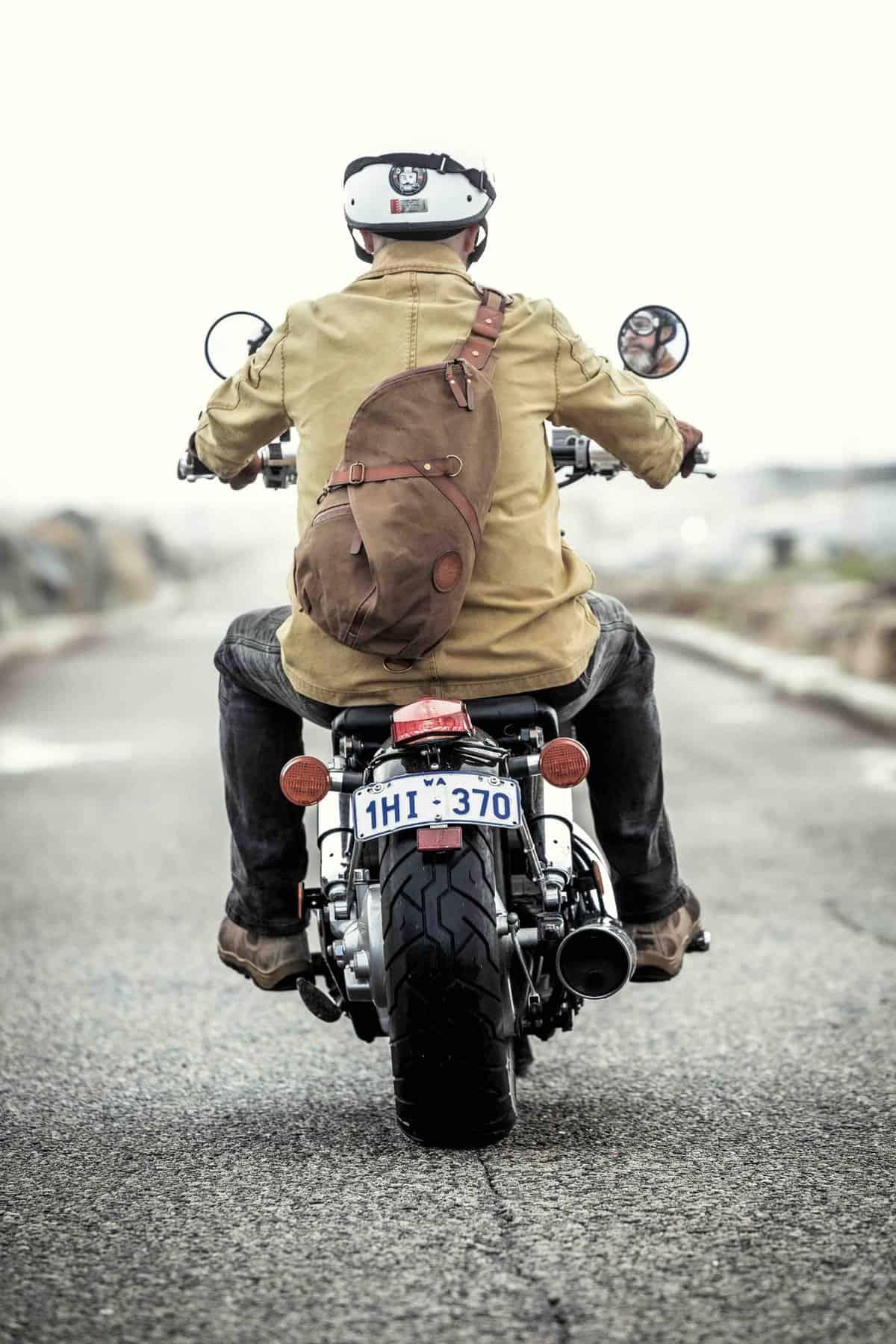 Jack Stillman: Nomad MKII Motorcycle Sling Bag